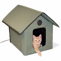 Casa Para Gatos Con Calefaccion Exterior E Interiores K&h