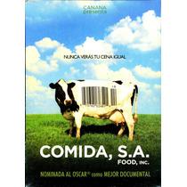 Dvd Comida, S.a. ( Food Inc. ) 2008 - Robert Kenner