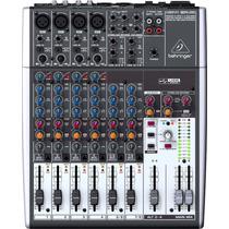 Mesa De Som Mixer Behringer Xenyx 1204 Usb 12 Canais