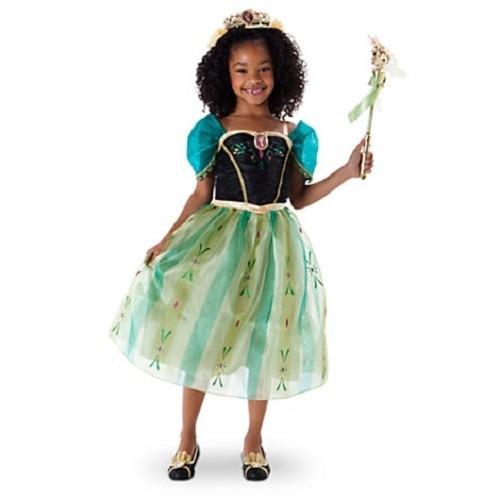 6af113bf0be7d Disfraz Anna Frozen Disney Store Original Coronacion -   1.290