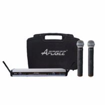 Microfono Inalambrico Uhf De Mano Doble Apogee U2 C/ Estuche