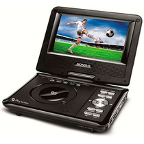 Mondial: Dvd Player Portátil Mondial Play Action D 08 Com Te