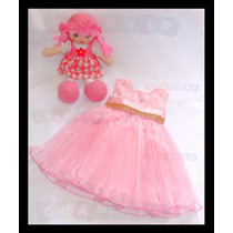 Vestido Peppa Pig Gatinha Marie Minnie Rosa Festa Princesas