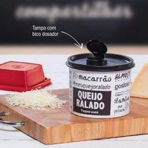 Redondinha Queijo Ralado L.preta / Branca Tupperware* Tapoer