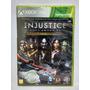 Injustice Gods Among Us Ultimate Xbox 360 Novo Mídia Fisica