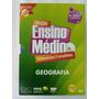 Coleção Ensino Medio Videoaulas Completas Geografia 4 Dvds