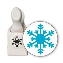 Scrapbook Perforadora Copo Nieve Papel Punch Cortar Navidad