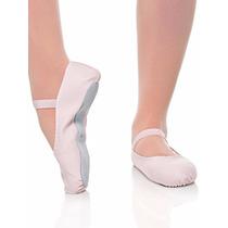 Ballet Sapatilha Meia Ponta Em Lona Capezio