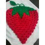 Posa Pava, Agarradera, Frutilla Crochet, Día De La Madre!
