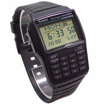 Relógio Casio Dbc32 Databank Calculadora Calssico Retro