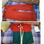 Ropà Color Naranja-pantalón-blusa-usado Talla Plus