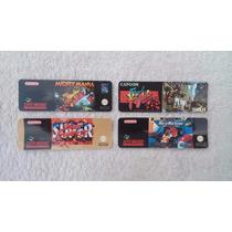 Label Cartucho Fita Super Nintendo Snes Adesivo S-nes