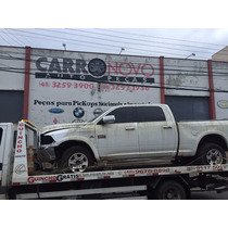 Sucata Para Peças Dodge Ram Heavy Dut 2500 6.7 2012 Cambio
