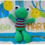 Muñeco Sonajero Para Bebe Tejido Crochet - Lanegracreaciones