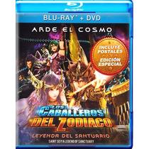 Los Caballeros Del Zodiaco La Leyenda Del Santuario Bd + Dvd