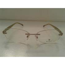 Armação Oculos Grau Bulget Bg1420 15a 53