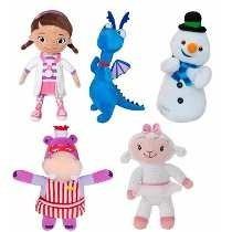 5 Bonecos Dra. Brinquedos Dra. Lambie Felpudo Gelinho Hallie
