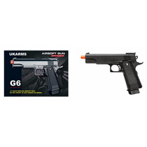 Pistola Airsoft Gun, Modelo G6, Nueva, Envio Gratis.