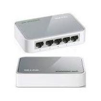 Switch 5 Puertos Rj45 Tp-link Tl-sf1005d 200mbps Conmutador