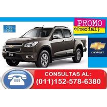 $120000 + Financiacion Tasa 0% Interes Chevrolet S10 0km