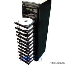 Torre Copiadora De Dvd Cd Com 12 Gravadores Philips Lite-on