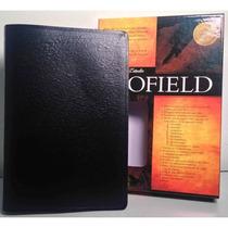 Biblia De Estudio Scofield Piel Especial Negro Rvr60