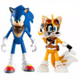 Sonic Boom - Sonic & Tails - Articulado - Tomy