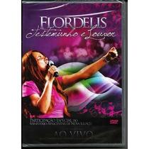 Flordelis Dvd Testemunho E Louvor Ao Vivo Original