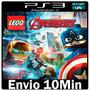 Lego Marvel Avengers Vingadores Ps3 Psn Play 3 Em Português