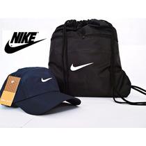 Kit Boné Nike E Sacola Mochila Nike