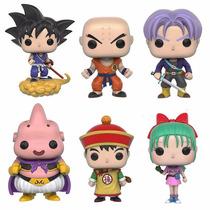 Funko Pop Dragon Ball Z - Set 6 Figuras Goku Gohan Bulma +3