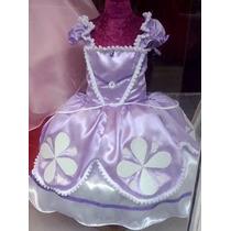 Vestido De Princesa Sofia