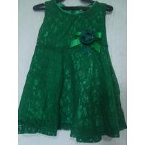 Vestido De Renda Pra Criança De 18 A 24 Meses