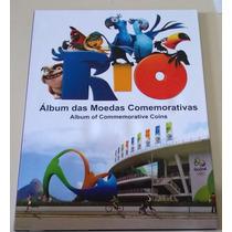 Álbum Moeda Olimpíadas - Belíssimo Rio 2016