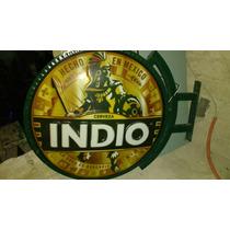 Letrero Luminoso Cerveza Indio