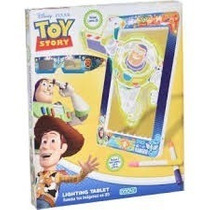 Pizarra Lighting Tablet En 3 D + 4 Colores Toy Story Ditoys