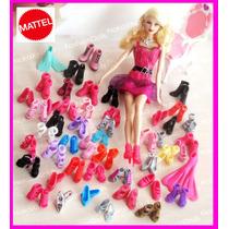 Sapatinho Original Para Barbie * Sapato Varios Modelo(1 Par)