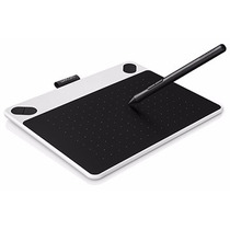 Tableta Digitalizadora Wacom Intuos Draw Small (blanco)
