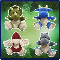 4 Dinosaurios Títeres De Guante