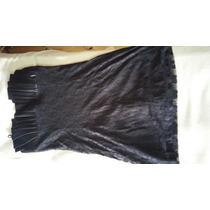 Vestido De Fiesta Negro Para Jovencita Como Nuevo