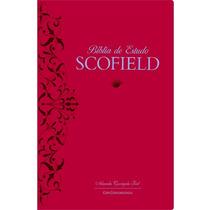 Bíblia De Estudo Scofield Almeida Corrigida Fiel Luxo Acf