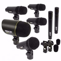 Kit De Microfones Skp P/ Bateria 7 Peças Dms-7 - Ac0978