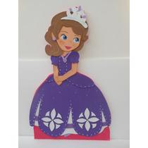 Hermoso Combo Princesa Sofia Figuras , Piñata, Bienvenido