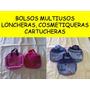 Bolsos Multiusos Cartuchera,cosmetiquera,lonchera