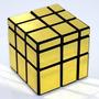 Cubo Rubik Magico - Shengshou 3 X 3 Mirror Cube Puzzle, Gold