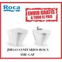 Juego Sanitarios Roca The Gap Corto Inodoro Corto Y Bide!!!
