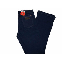 Calça Jeans Feminina Flare Amaciada/elastano Os Vaqueiros