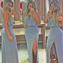 Vestido Longo De Renda,madrinha,festa,lindo,moda Evangelica