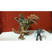 Dr.veneno Dinosaurio Unimax 2005 Aprox 28 Cm Largo