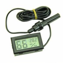 3 Termometros Higrometros Digitales De Sonda Negro